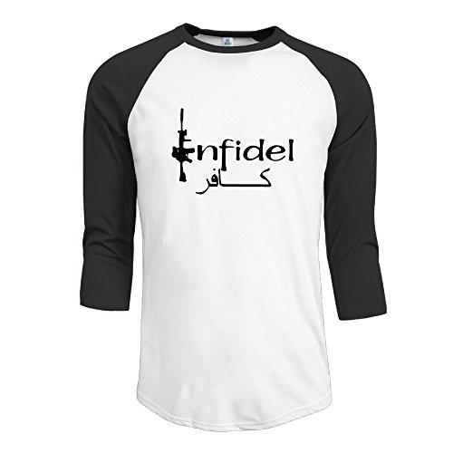Men Cool High Quality Infidel O-neck Crazy Shirts