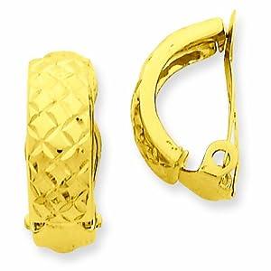 14K Non-Pierced Earrings