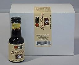 Case of 12 Bottles of Essence 20 ml Each Makes 1 Liter (Spiced Rum)