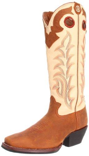 Tony Lama Boots Men's RR1000 Boot,Rojo Bridle/Ivory Baron Calf,10 D US
