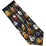 ギター シルク ネクタイ GUITARS CLASSIC 1910 TO 1996 HISTORY OF MUSIC MEN SILK