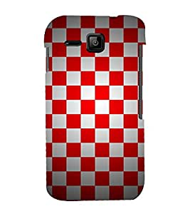Chess Board Checks 3D Hard Polycarbonate Designer Back Case Cover for Micromax Bolt S301