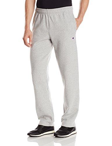 champion-mens-powerblend-open-bottom-fleece-pant-oxford-gray-l