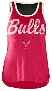 Buy Chicago Bulls Ladies NBA National Title Red Jersey Tank Top by G-III by G-III 4her Carl Banks