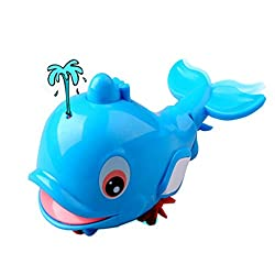 Bathtub Toys Little Squirting Dolphin Bath Toy Age Range 1 year and up 14*10CM