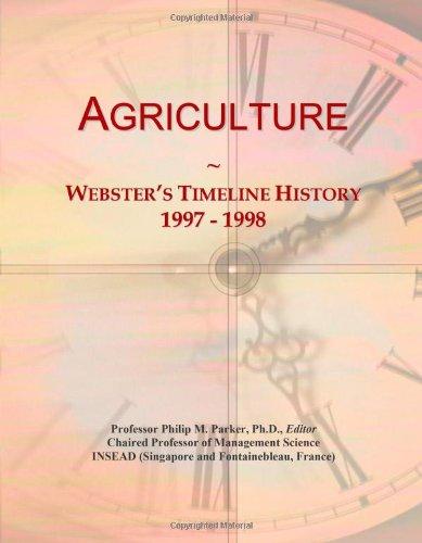 Agriculture: Webster'S Timeline History, 1997 - 1998