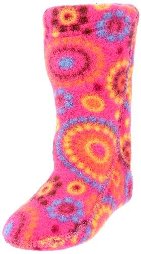 ACORN Versa Fit Sock Liner,Pink Dots,KM (10.5-12 M US Little Kid)