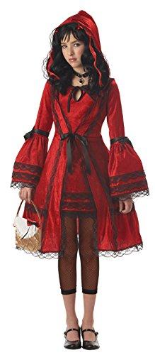 California Costumes Girls Tween Red Riding Hood Costume, X-Large