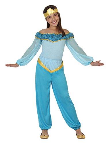 atosa-26413-princesa-arabe-chica-tamano-104-de-color-azul-claro