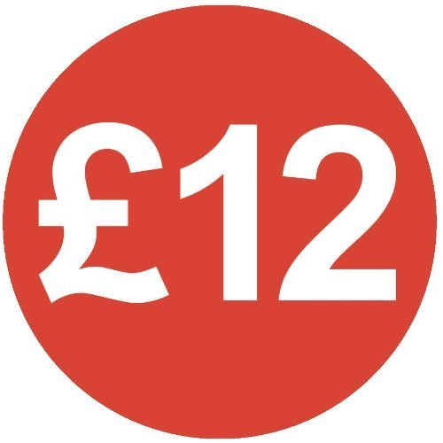 Audioprint Lot Petit 13mm £12stickers Prix-Lot de 200