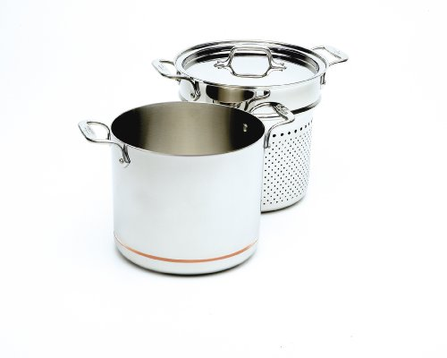 All Clad Copper Core 7-Quart Pasta Pentola