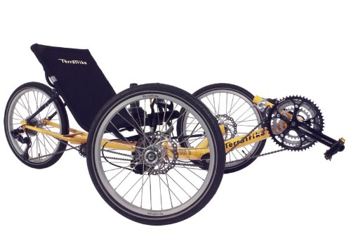 TerraTrike Tour II 8 Speed Recumbent Trike