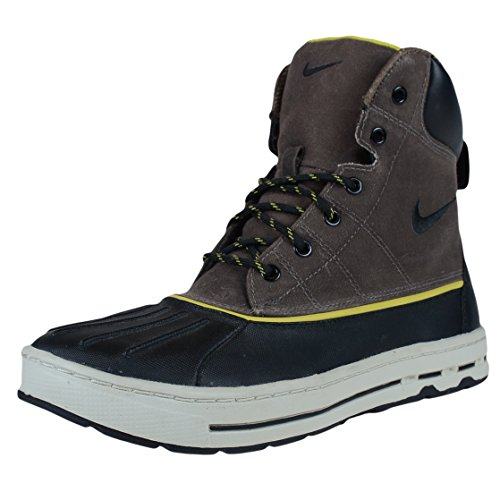 Nike Woodside ACG Mens Boots [386469-005] Ironstone/Black-Light Brown-High Voltage Mens Shoes 386469-005-8 (All Condition Gear Boots compare prices)