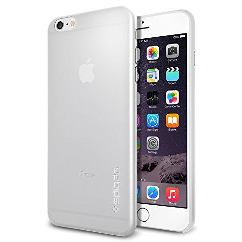 iPhone 6 Plus ケース Spigen [薄さ0.4mm] エアースキン Apple iPhone (5.5) (国内正規品) (ソフト・クリア SGP11157)