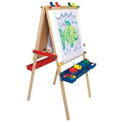 Melissa and Doug Deluxe Standing Easel:   Mellisa & Doug Easel Christmas Deals