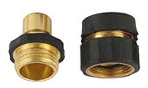 A8001 Pressure Washer Garden Hose Brass Quick Connect Kit 1
