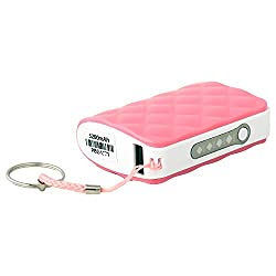 Zeus PB2 5200mAh Powerback with Torch and Charging Indicator-PINK