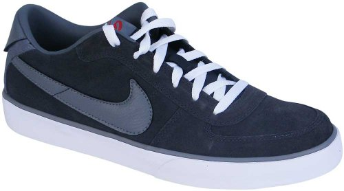 New Nike Mavrk Low Skate Shoe - Men's Dark Charcoal/White/Varsity Red/Cool  Grey, 12.0