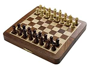 19x20cm Magnetic Travel Wooden Chess Set