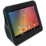 Xoro HMT 360Q 17,8 cm (7 Zoll) Hifi Pad Internet TV und Radio (4x 1,5 GHz A7 QuadCore CPU, 1GB RAM, 8GB interner Speicher, WiFi, Online Wetter, IPTV, Android 5.1) schwarz