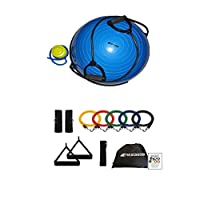 BEACHBORN(TM) Deluxe Balance Trainer Gym Quality - Comes With FREE 11 Piece Resistance Band Set - SALE - FREE SHIPPING!