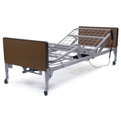 Patriot Semi-Electric Bed Plastic Ends: Without, Mattress: No Mattress, Side Rails: Fda Full