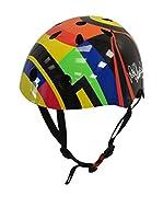 Kiddimoto Casco de Ciclismo Edition Valentino Rossi (Multicolor)
