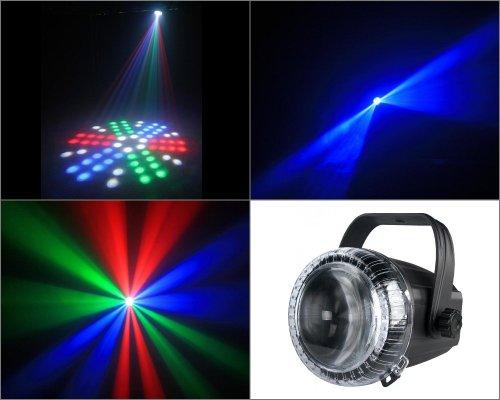 JB Systems Proton Effetto LED 66 LEDs, Nero