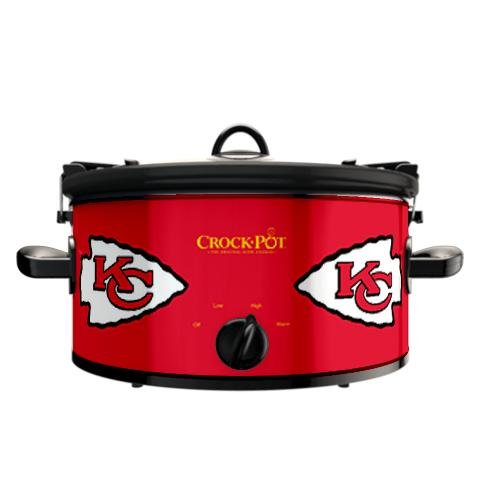 Digital Slow Cookers: Official NFL Kansas City Chiefs Crock-pot Cook & Carry 6 Quart Slow Cooker