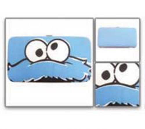Sesame Street Cookie Monster Blue Hinge Wallet