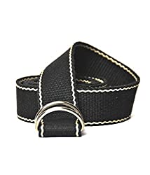 Anekaant Black Cotton Belt
