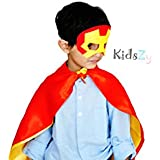 Kidszy Iron Man Cape And Mask For Kids, Cape, Mask
