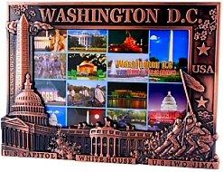 Washington DC Picture Frame - Copper (Fits 4X6 picture), Washington DC Picture Frames, Washington DC Souvenirs