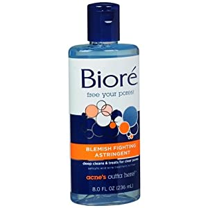 Biore Blemish Treating Astringent 8 fl oz (Pack of 3 )