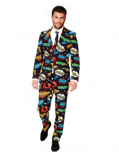 Costume Mr Comics per uomo Opposuits Large