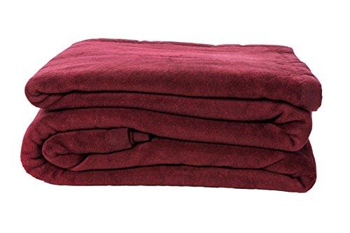 ZOLLNER-Kuscheldecke-Wolldecke-Wohndecke-weinrot-150x200-cm-in-weiteren-Farben-und-Gren-erhltlich-in-Hotelqualitt-Serie-Colorado