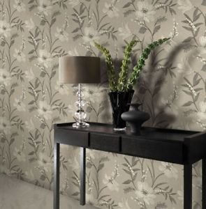 Gran Deco Elise Wallpaper - Plum from New A-Brend