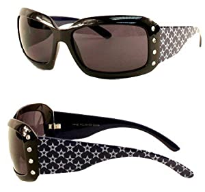 NFL Officially Licensed Ladies Designer Rhinestone Bling Sunglasses by Siskyou