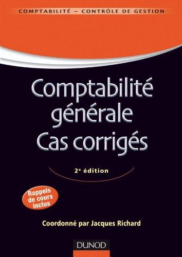 comptabilité , cas corrigés (9e édition)