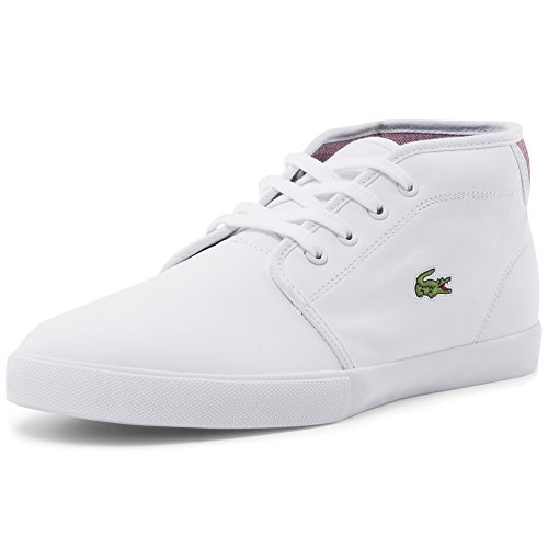Lacoste Uomo Ampthill 116 2 SPM Trainers, Bianco, 40.5