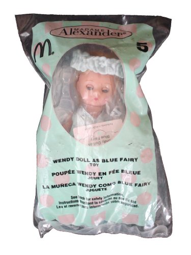 2004 McDonalds Happy Meal Toy Madame Alexander #5 Wendy Doll as Blue Fairy MIP - 1