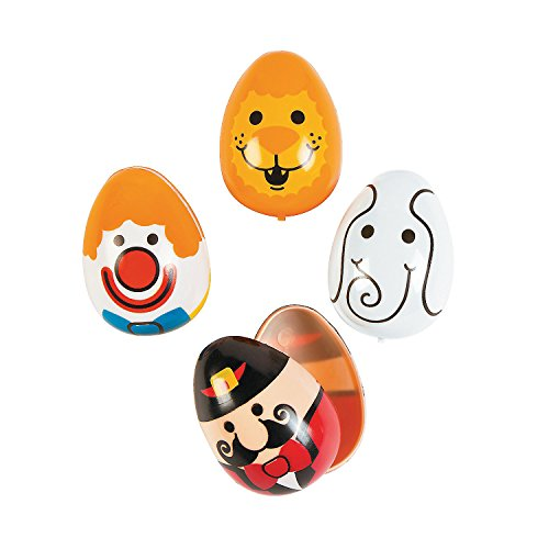 Circus Easter Eggs - 12 ct - 1