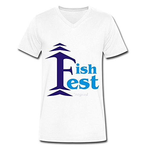 fishfest-2016-logo-fashion-v-neck-t-shirt-for-men-white