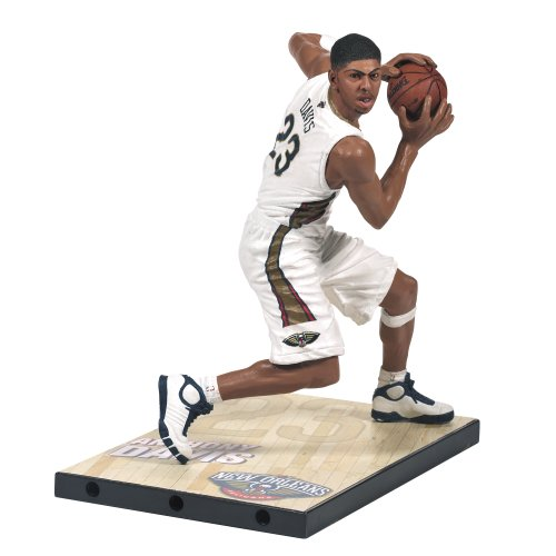 McFarlane Toys NBA Series 24 Anthony Davis Action Figure (Blue Numbered Basketball Jersey compare prices)
