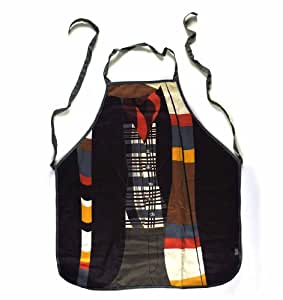 Cotton Character Apron in a Tube - Doctor Who (50th Anniversary - The Fourth Doctor) Design