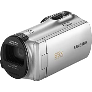 Samsung SMX-F50SN/XAA F50 SD Camcorder with 52x Zoom (Silver)