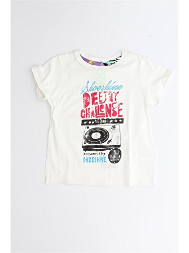 SHOESHINE E4TM0810 WHITE T-SHIRT Bambino WHITE 8Y