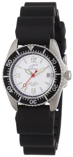 Chris Benz Women's Quartz Watch CBL.SI.KB.SW with Rubber Strap