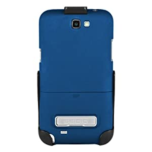 Seidio BD2-HR3SSGT2K-RB SURFACE Case with Metal Kickstand and Holster Combo for Samsung Galaxy Note 2 - Retail Packaging - Royal Blue
