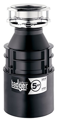 InSinkErator Badger 5XP 3/4 HP Household Garbage Disposer (Insinkerator Badger 1 1 3 Hp compare prices)